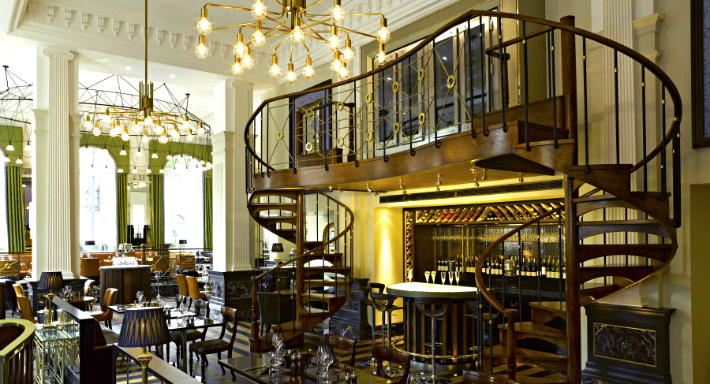 The balcon sofitel in london westminster for Balcon in english